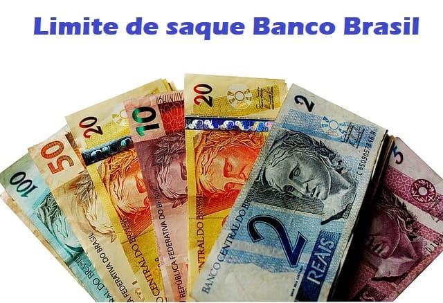 Limite de saque Banco do Brasil
